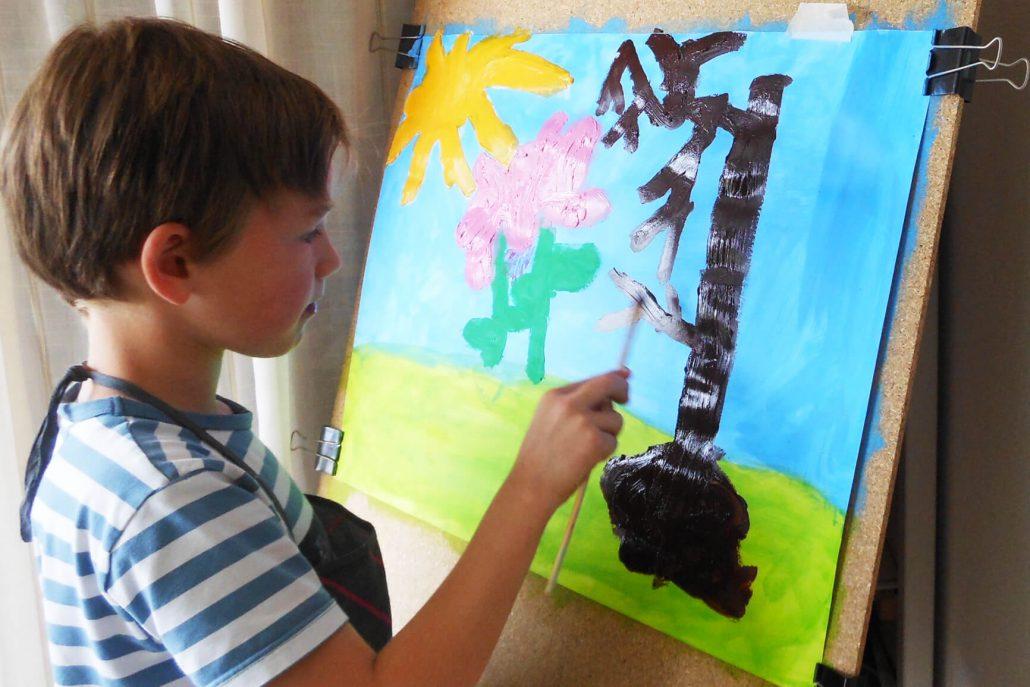 schilderen tekenlokaal gemma